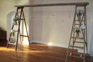 ladder-arbour